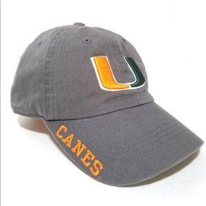 UM UNIVERSITY OF MIAMI HURRICANES Hat